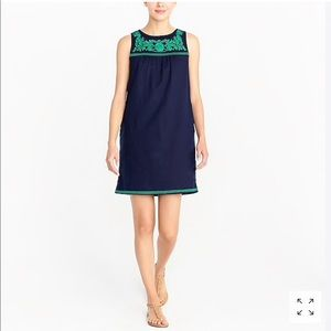 J.Crew Embroidered Dress